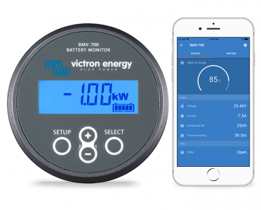 Victron Energy Batterie-Monitor inkl. Bluetooth Verbindung