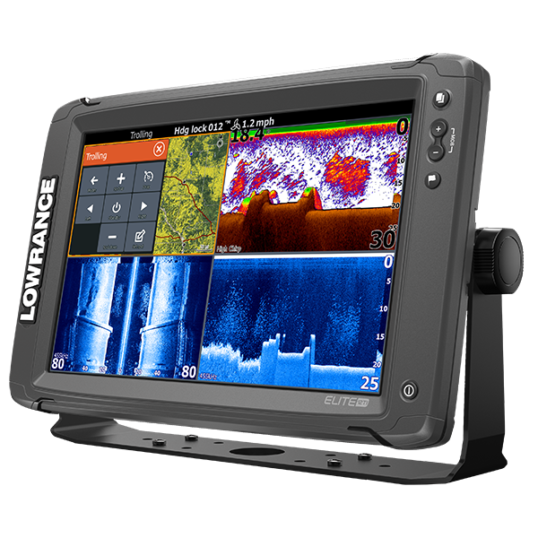 Lowrance Elite-12 Ti mit TotalScan Mid/High +Structure Scan Geber